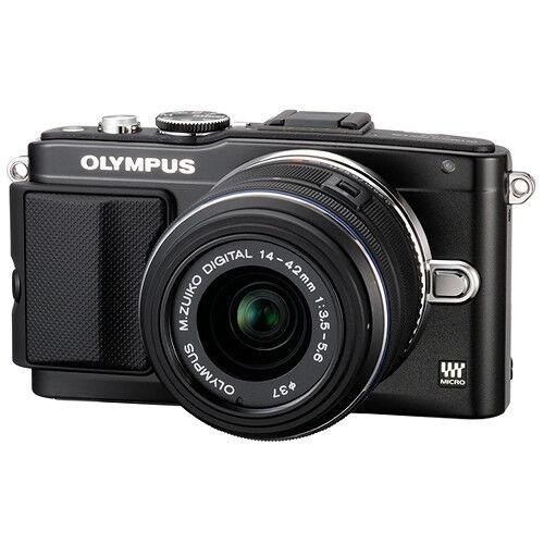 Olympus E-PL5 Mirrorless Digital Camera with 14-42mm Lens