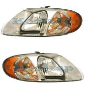 2001 Chrysler Town and Country Headlights