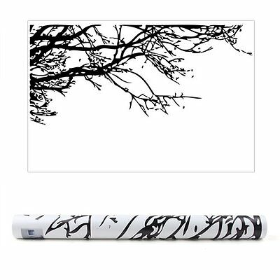 Black Tree Branch PVC Removable Room Art Mural Wall Sticker Decal  ZH