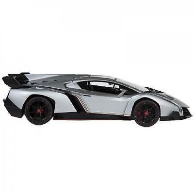 1 14 Scale Rc Lamborghini Veneno Gravity Sensor Radio Remote Control Car Silver