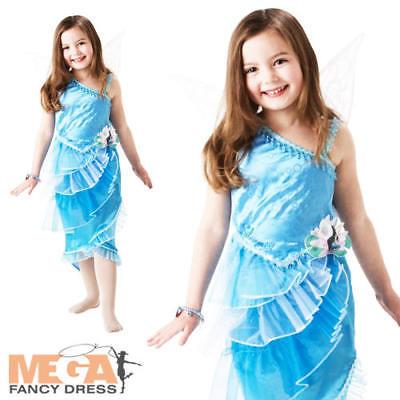 Silver Mist Fairy Girls Fancy Dress Disney Fairies Fairy Tale Kid Costume Outfit](Silver Mist Fairy Costume)