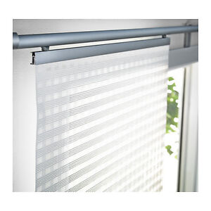 """Two New in packaging Ikea White Curtain Panels Ingamaj, 24""""x118"""""""