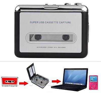 Lettore Mangianastri Convertitore Di-Cassetta Musicasetta A MP3 con Auricolari
