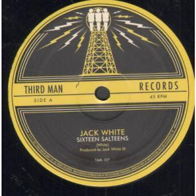 "JACK WHITE - SIXTEEN SALTEENS - PLAYABLE ETCHED 12"" VINYL  THIRD MAN  NEW"