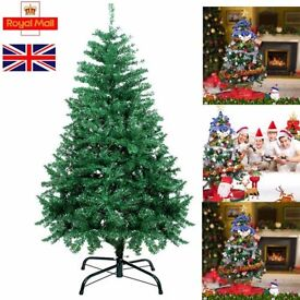 7ft green christmas tree never used