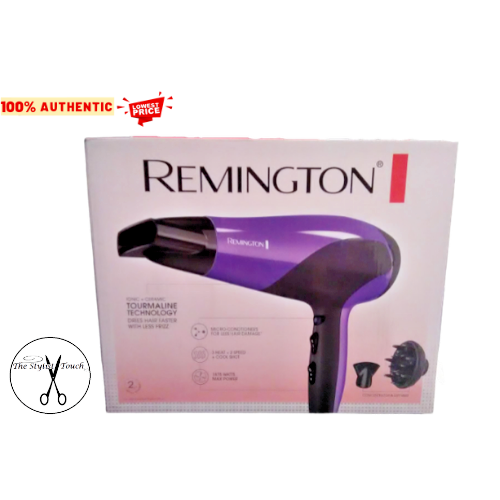 Remington Damage Control Ceramic Ionic Hair Dryer With Diffu
