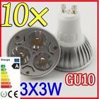 GU10 LED Warm 9W