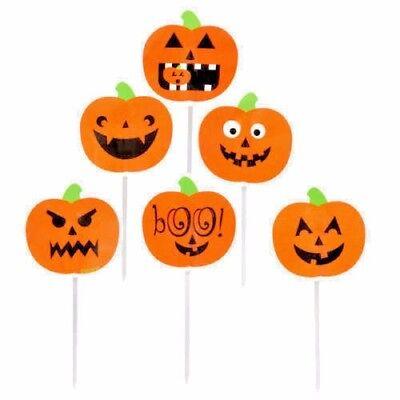 Wilton Fun Pix Pumpkin Cupcake Decoration Picks 12pcs  HALLOWEEN Party Cake BK (Fun Halloween Cupcakes)