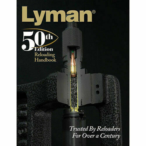 Lyman Ammo Loading Data Book Softcover 50th Edition 9816051