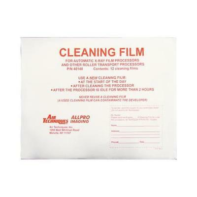 Air Techniques 40140 9 X 12 X-ray Cleaning Film For Roller Process 12pk