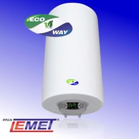Lemet Ecoway electric water heater 50 litre. NEW. Energy label B!