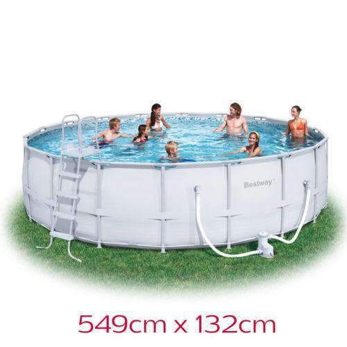 Bestway Above Ground Swimming Pool Ebay