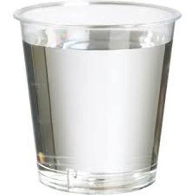 1000 x 25 ml plastic shot glasses ,Disposable, Cheapest on eBay . 25 ml to rim