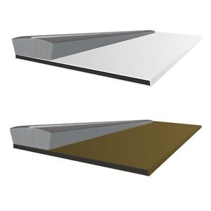 Surface mounted intumescent seals