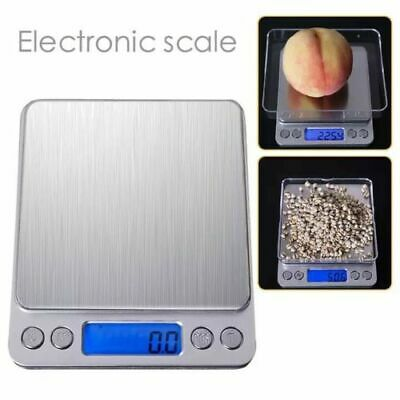 Portable 3000g x 0.01g Mini Digital Scale Jewelry Pocket Balance Weight Gram LCD