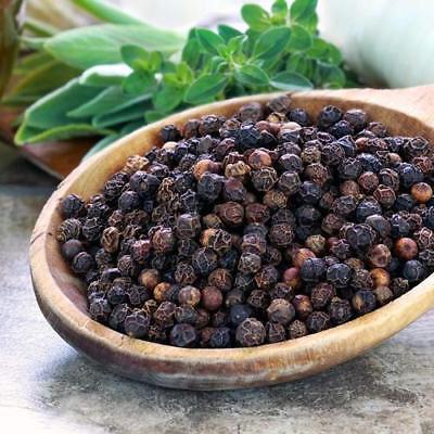 Tellicherry Black Pepper - Peppercorn Black Pepper Organic Malabar (A+grade) Whole Herbs Black Tellicherry
