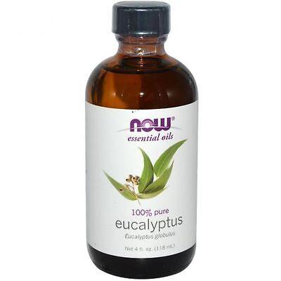 Eucalyptus Oil (100% Pure), 4 oz - NOW Foods Essential Oils
