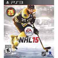 NHL15 Brand new barely used