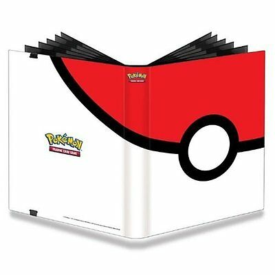 Pokeball Pokemon Cards Binder Portfolio Card Pocket Album Holder Protector