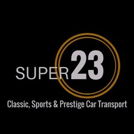 Super23 Covered Car Transport For Classic, Sports & Prestige Cars from Scotland