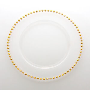 Wedding/Event Rentals! Glass Charger Plates and Free Votives!