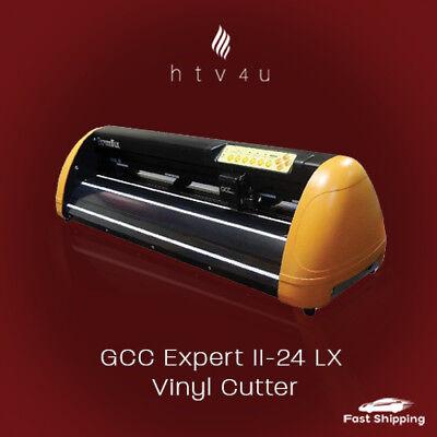Gcc Expert Ii-24 Lx Vinyl Cutter Bundle Free Shipping