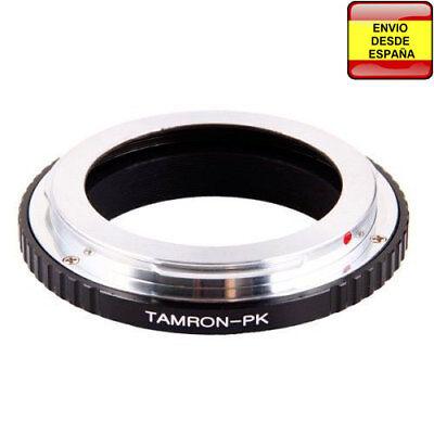 Anillo adaptador lentes Tamron Adaptall AD2 a Pentax-K PK