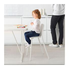 Ikea Urban Junior Chair white plastic