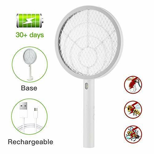 Electric Large Bug Zapper Racket, Mosquito killer, Fruit Fly Swatter Zap, Pest C