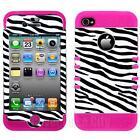 Zebra Print iPhone 4 Case