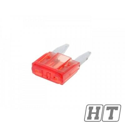FUSE FLAT MINI MINI 111MM 10A RED FOR SCOOTER MOTORCYCLE