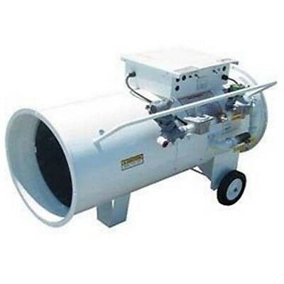 HEATER - Portable - Industrial - Direct Fired - Dual Fuel VP/NG/LP - 750,000 BTU Fuel Fired Heater
