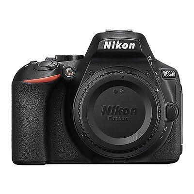 Nikon D5600 24.2 MP DX-Format CMOS Digital SLR Camera Body (Dslr Camera Body)