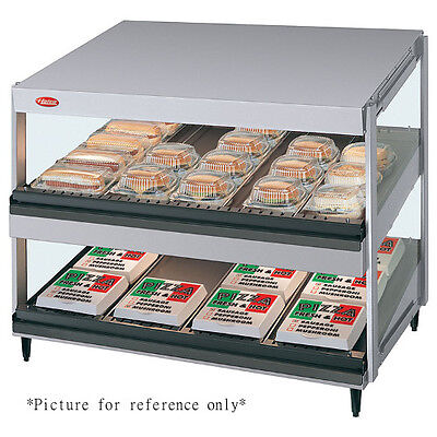 Hatco Grsds-24d Countertop Multi-product Display Warmer With 2 Slanted Shelves