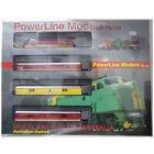 PowerLine Plastic HO Scale Model Train Locomotives