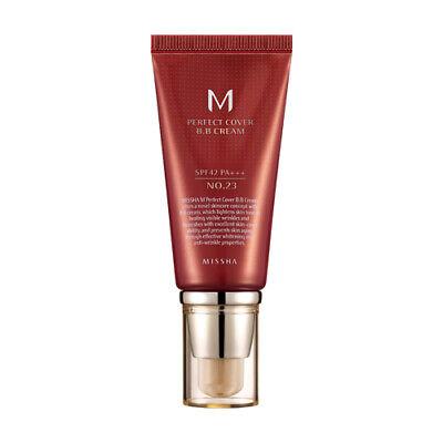 [MISSHA] M Perfect Cover BB Cream SPF42/PA+++ [No.23 - Natural Beige] 50ml