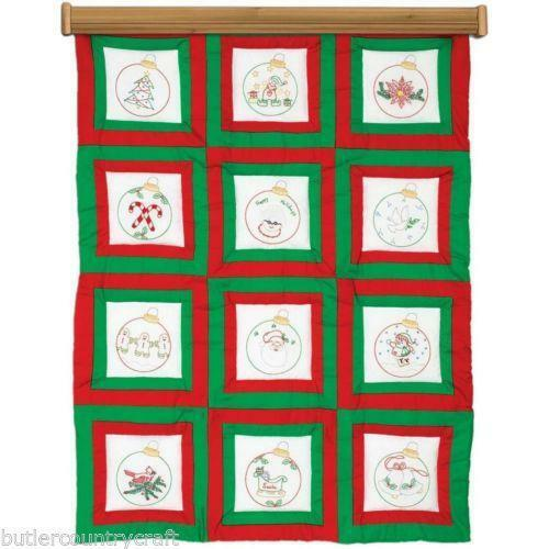 Hand embroidery quilt blocks ebay