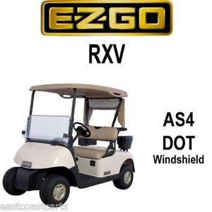 EZGO-RXV-Fold-Down-Street-Legal-AS4-DOT-Windshield