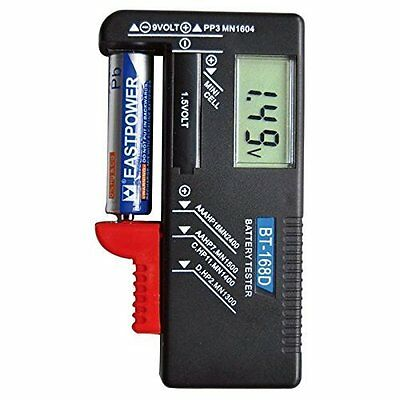AA/AAA/C/D/9V/Mini Cell Battery Universal LCD Digital Battery Tester US Seller