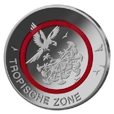 Deutschland - 5 Euro 2017 - Tropische Zone - Prägestätte