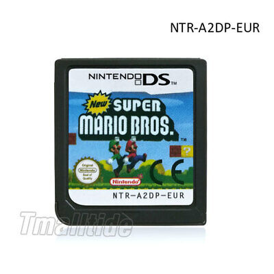New Super Mario Bros DS Game Card For Nintendo DS DSI DSL 3DS NDS XL EU Version