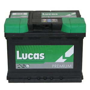 lucas premium lp027 12v 60ah car battery ebay. Black Bedroom Furniture Sets. Home Design Ideas