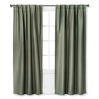 Gramercy Panel (Target Eclipse Window Panel GRAMERCY Solid SAGE GREEN new 84