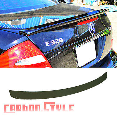 Unpainted For Mercedes Benz W211 Sedan Lorinser Rear Trunk Boot Spoiler E-class for sale  Shipping to Canada