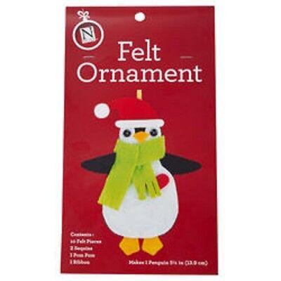 Holiday Felt Craft Kit: Make Your Own Christmas Ornament