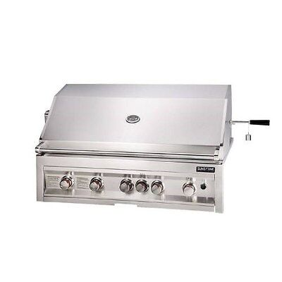 Sunstone Grills 42 Inch 5 Burner Gas Grill With Rotisserie B