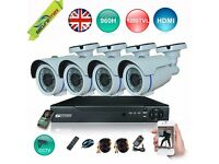 4 CHANNEL 1080P 960H DVR CCTV CAMERAS 4 KIT- C7017N! SECURE YOUR BUSINESS