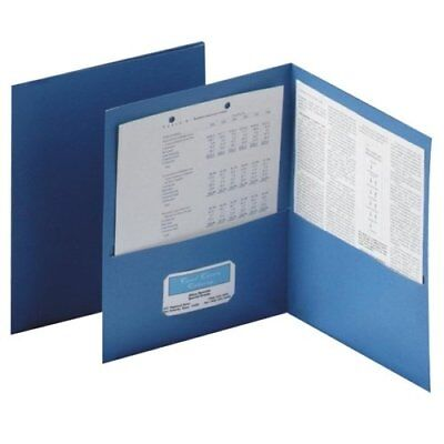 Oxford Twin Pocket Folders - Letter - 8.50 X 11 - 100 Sheet Capacity - 2