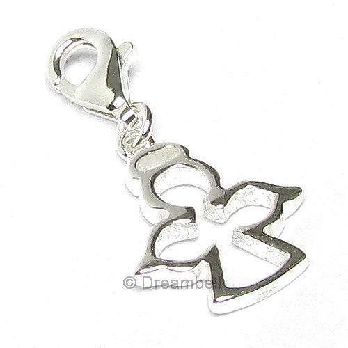sterling silver clip on charms ebay