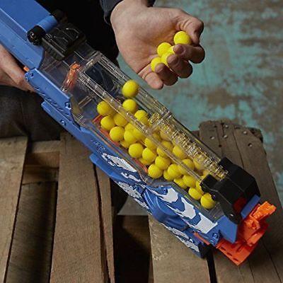 NERF Rival Nemesis MXVII-10K Blaster - Blue - FREE SHIPPING